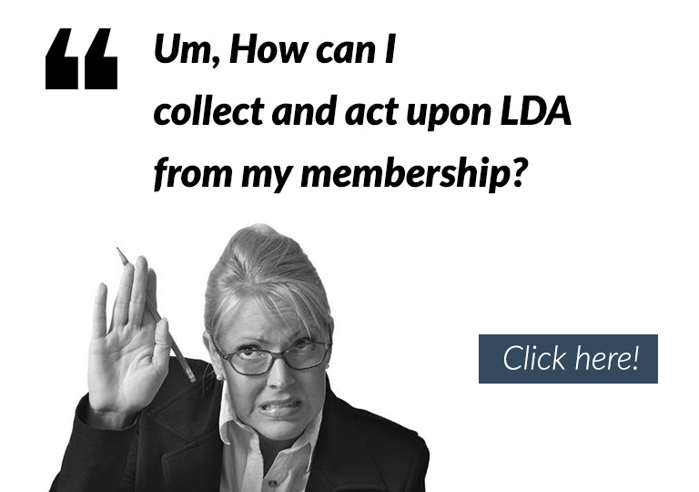 Click on the image above to find out about LDA result collection and how should we act upon it!