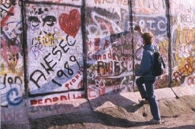 Berlin 1989: Where they would build walls of fear, we would build bridges of trust