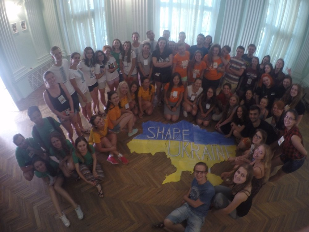 Shaping Ukraine while doing youth development!