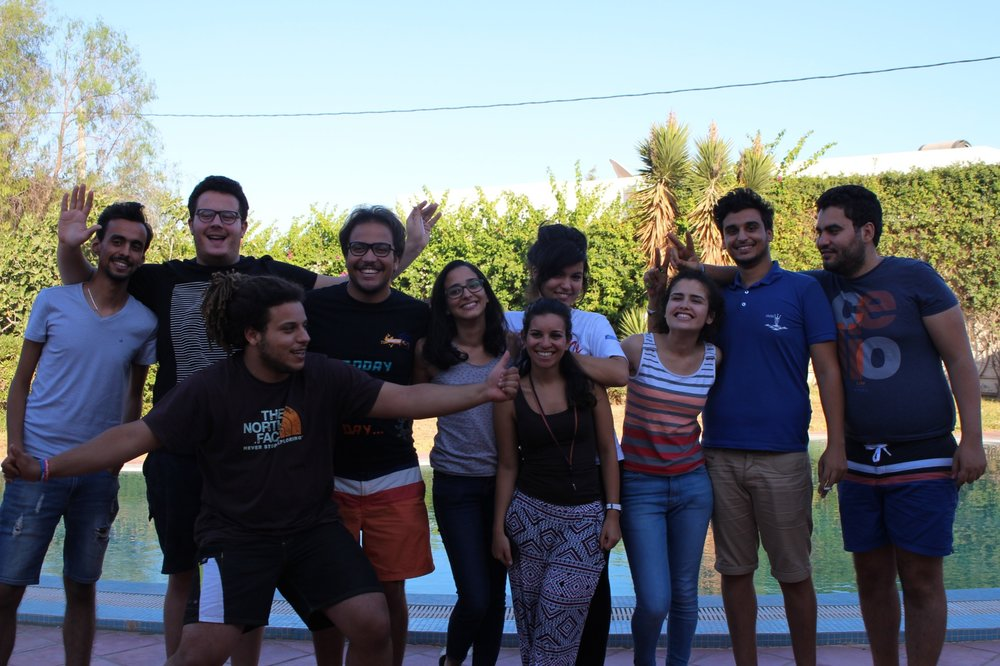 AIESEC in Tunisia team!