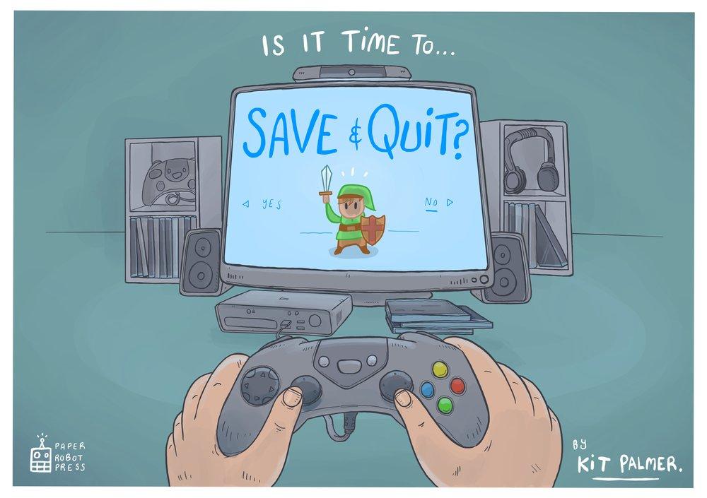 It's dangerous to go alone, Li'l Link!