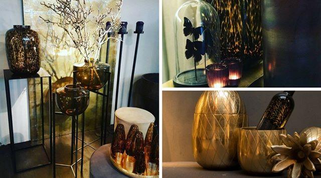 Maak sfeer in huis met de mooie producten van MD!  #sfeer #md #mooi #vazen #ananas #goud #hoofddorp #wurpelbloembinders