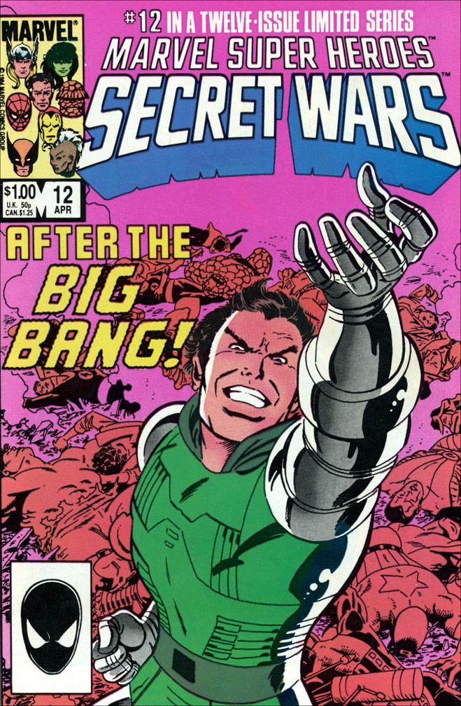 Secret Wars #12