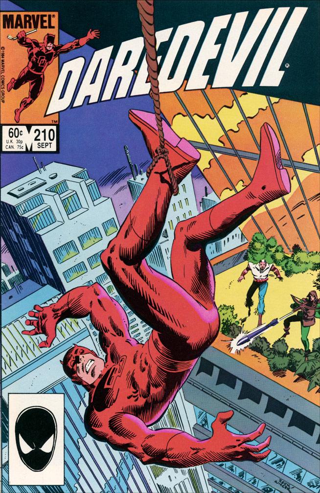 Daredevil #210