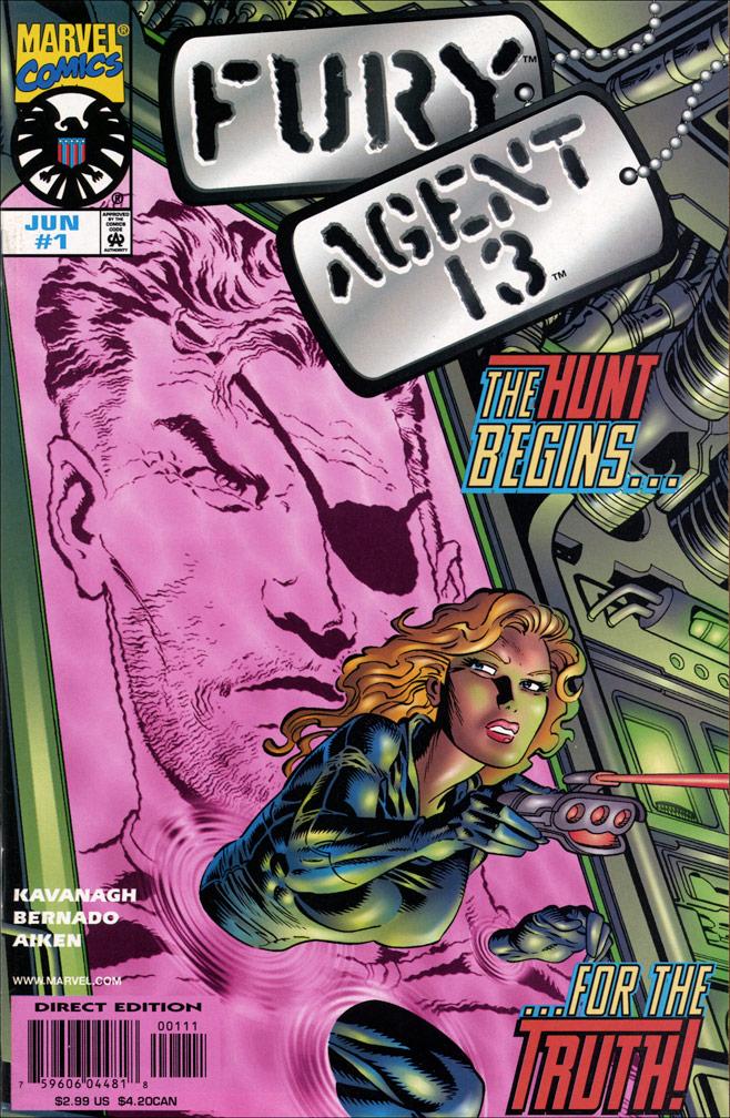 Fury, Agent 13 #1