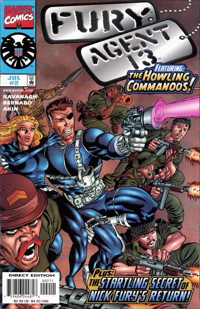 Fury, Agent 13 #2