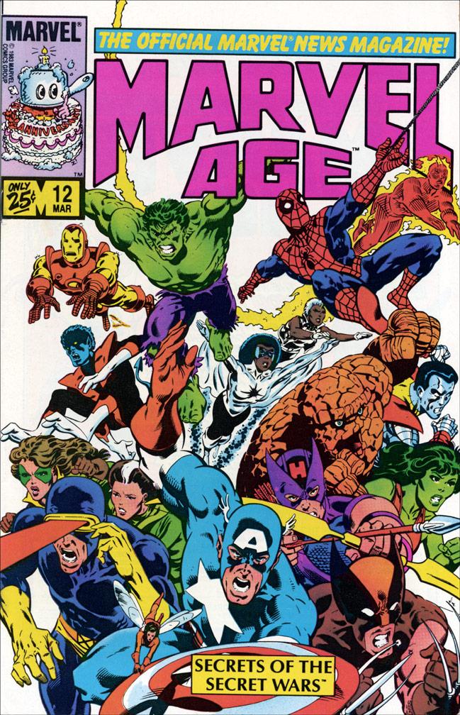 Marvel Age #12