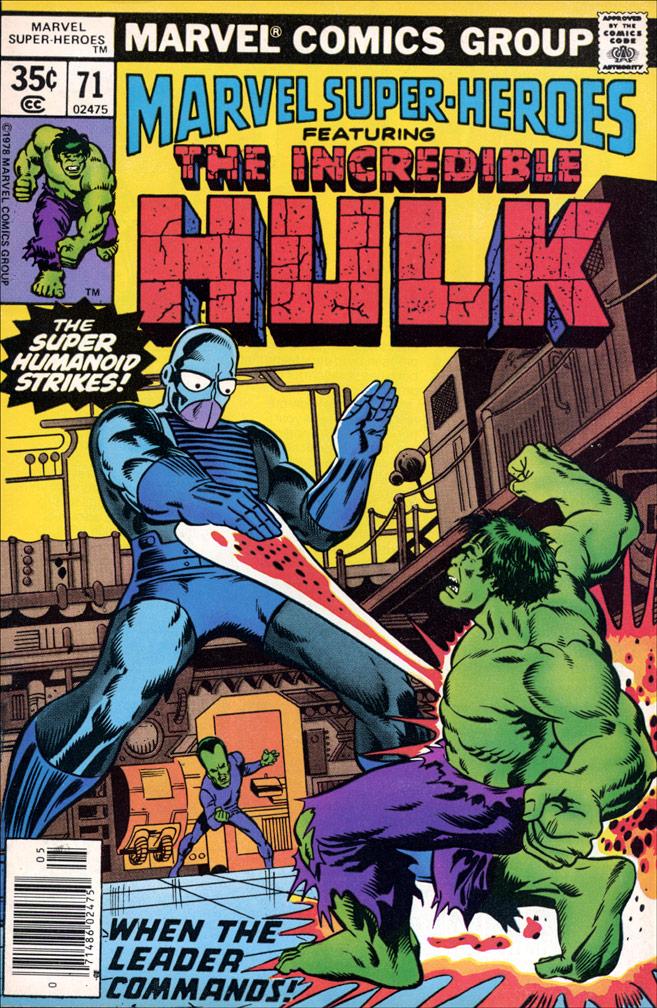 Marvel Super Heroes #71