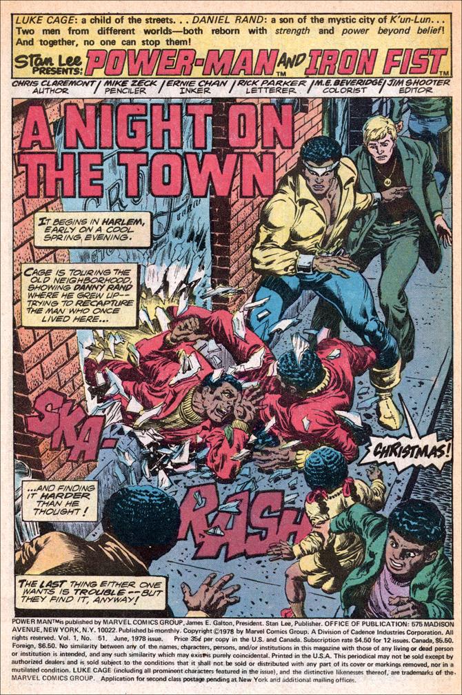 Power Man/Iron Fist #51