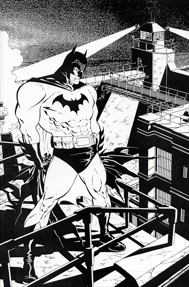 Batman lodk 69 inks