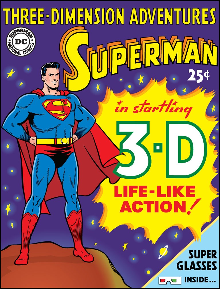 3-D Superman