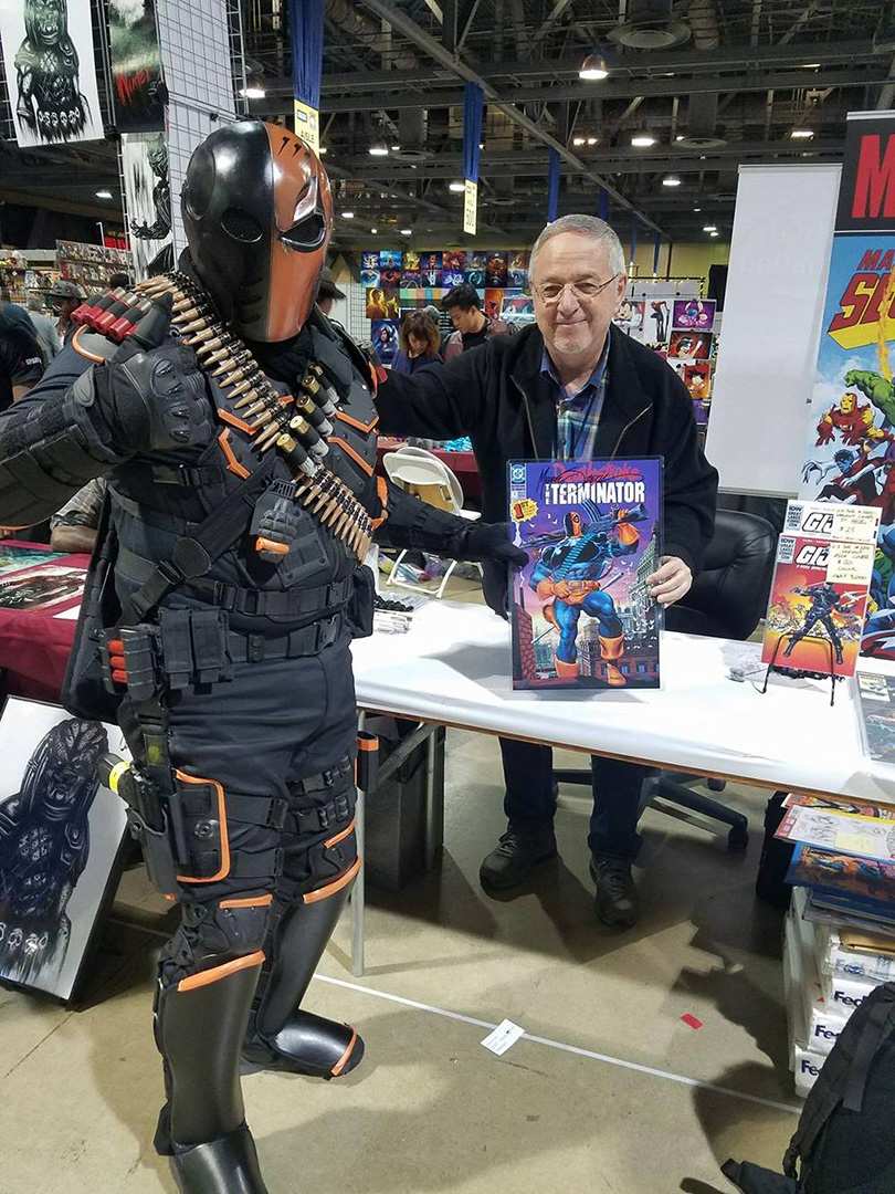 Deathstroke In The House!