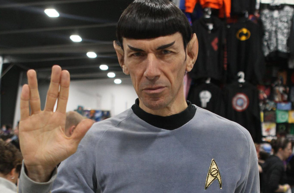 I'm always a bit happier at events when I know that Spock Vegas is the acting Commander of the show floor.
