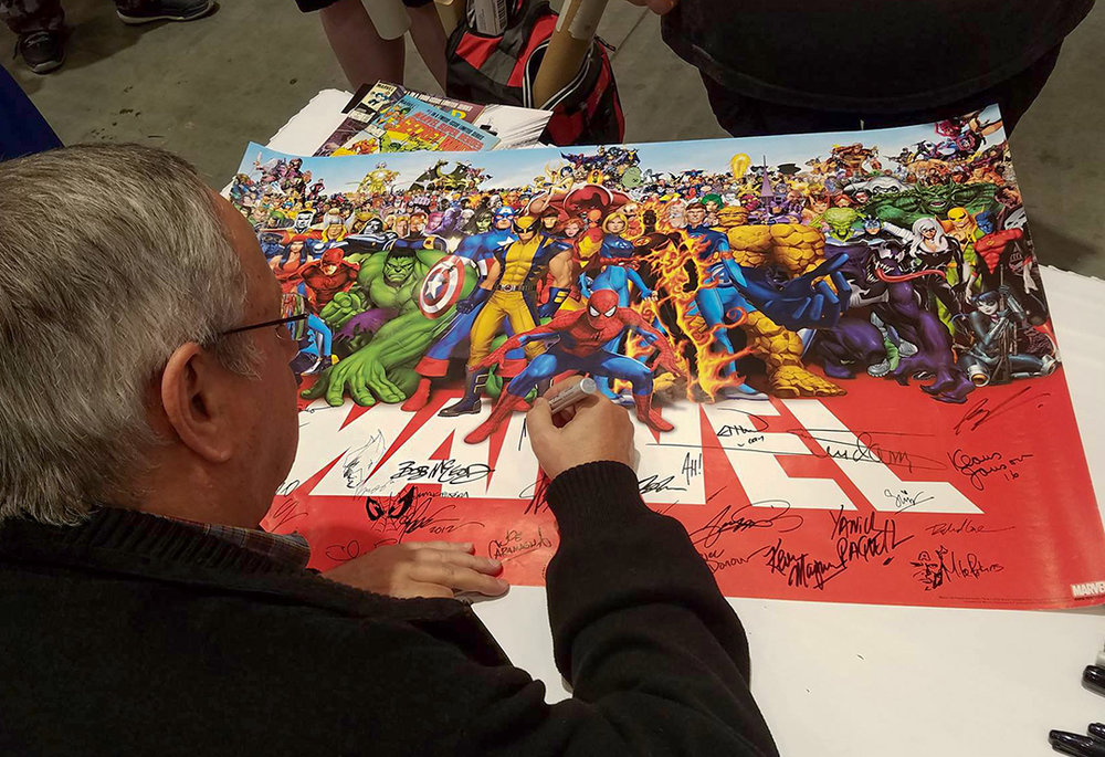 Adding my sig to what's already a stellar list of Marvel creators.