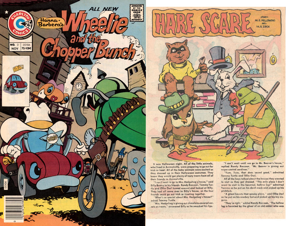 Wheelie and the Chopper Bunch #3