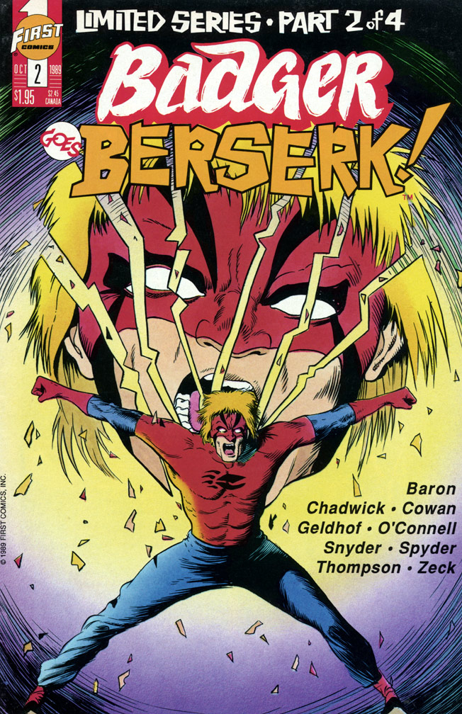 Badger Goes Berserk! #2