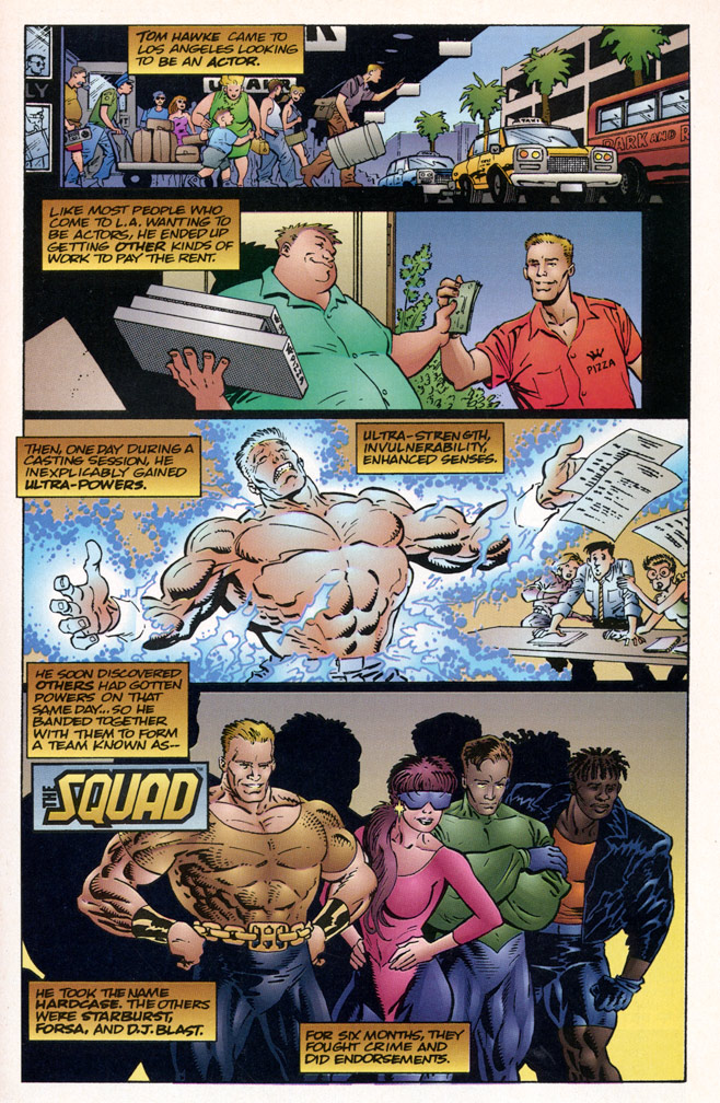 Ultraverse Origins #1 Interior