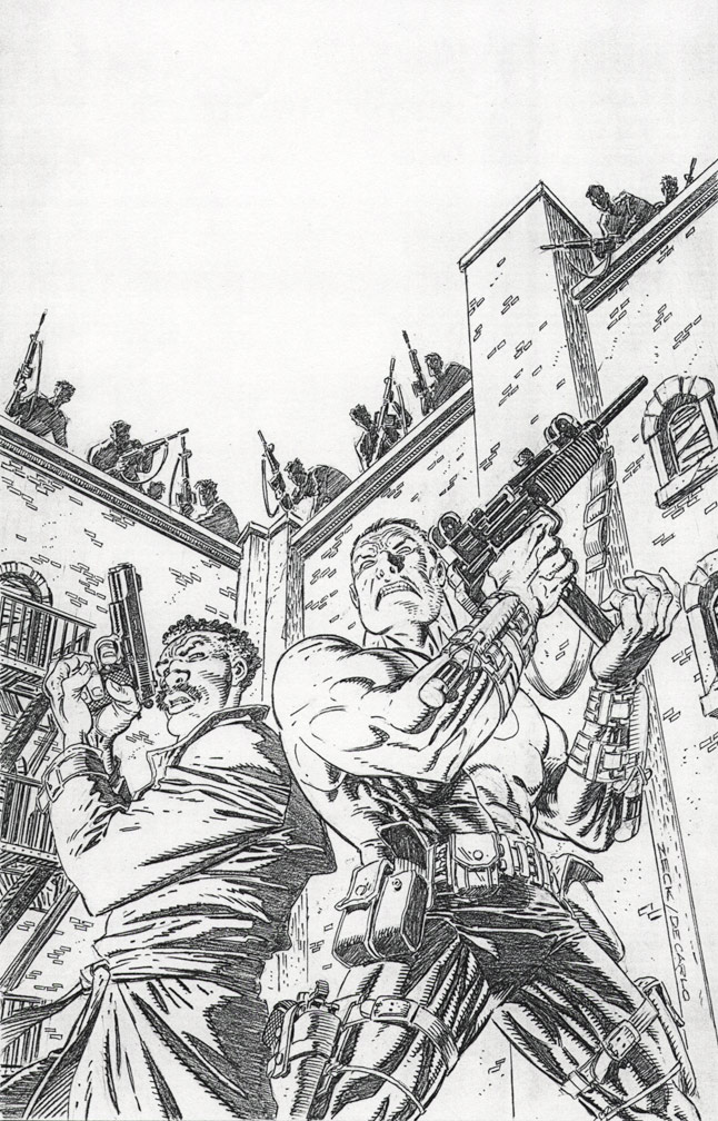 Bloodshot: Last Stand Cover Pencils