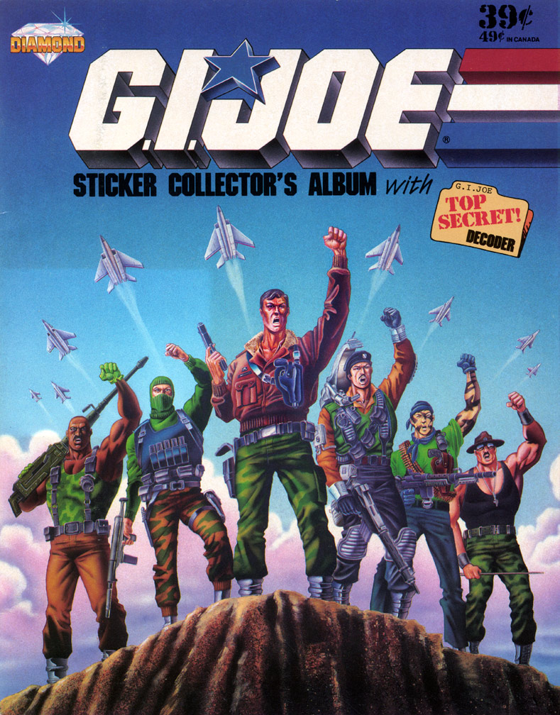 G. I. Joe Sticker Album