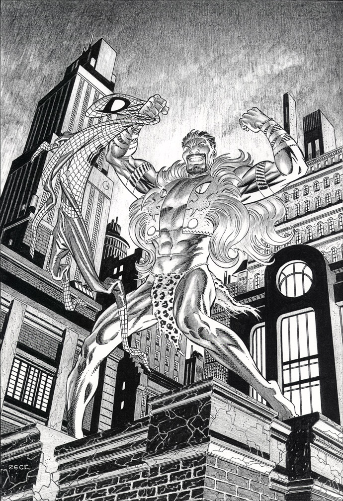 Kraven on Rooftop