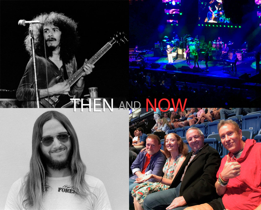 Top left: Santana circa '72 photographed my me at one of his concerts, Top right: Santana at Mohegan Sun, Bottom left: me circa '72, Bottom right: me and my cohorts at Mohegan Sun. Santana looks great, sounds great, and performs better than ever! Me,.. I'm just looking for a rocking chair :-)