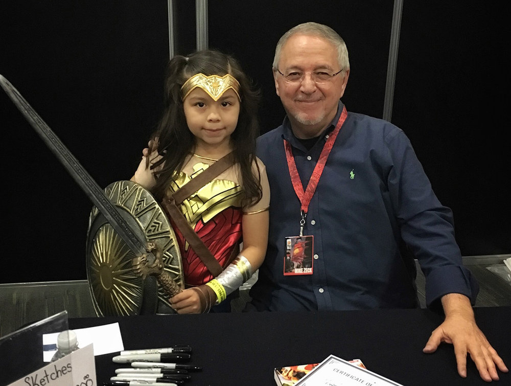 Wonder Woman was a star at our table and became our raffle assistant on a couple of occasions.
