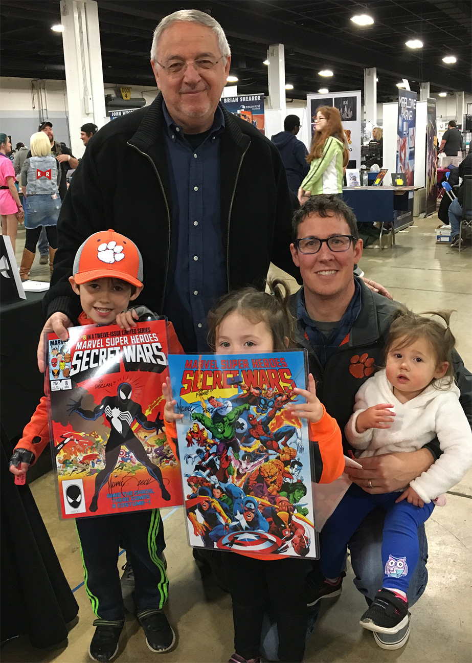 SOUTH CAROLINA COMICON This Greenville SC event is very much a family destination, and that suits me perfectly.