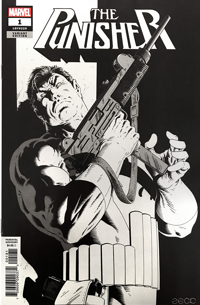 Cover to the B&W incentive variant available to qualifying orders.