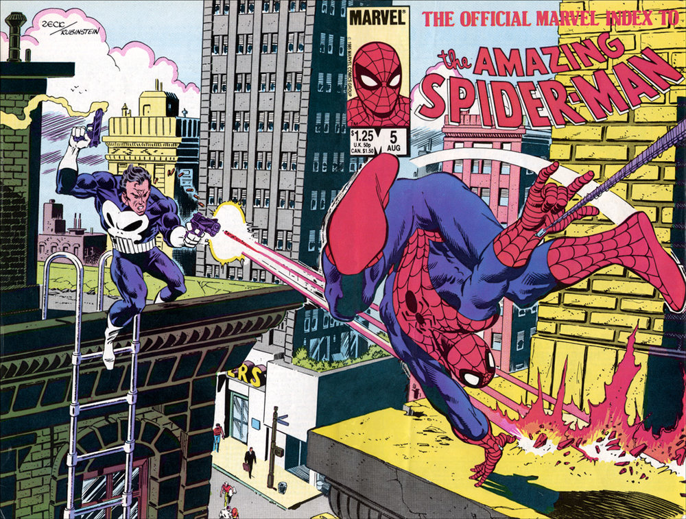 Marvel Index to Amazing Spider-Man #5