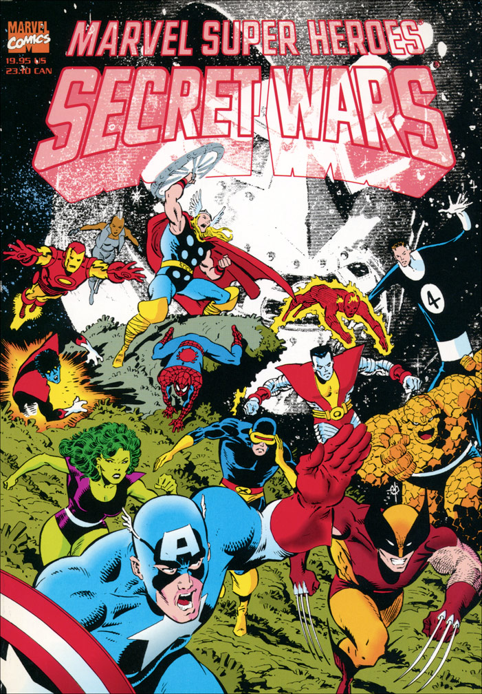 Secret Wars 1992 TPB
