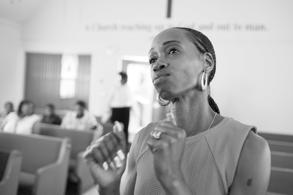 Tracy at Mount Olive Baptist Church. Englewood, NJ (2015)