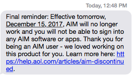 Dammit AIM