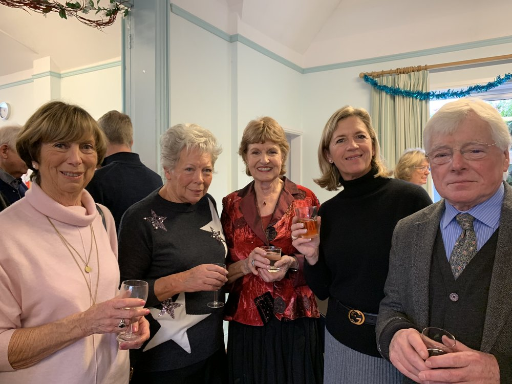 Lesley, Wendy, Charmian, Jayne, Anthony