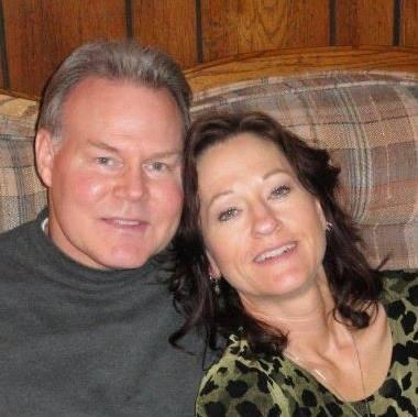 With my beautiful wife Twylla Dawn Burgess