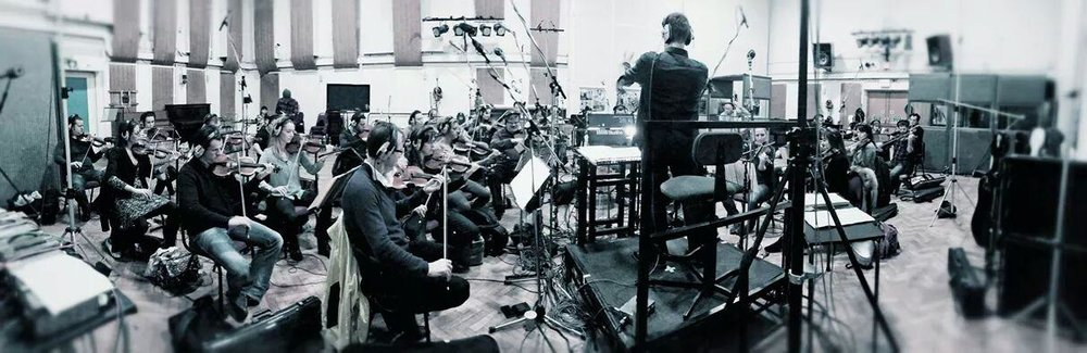 Recording session at Abbey Road Studios  credit: Top Dollar PR