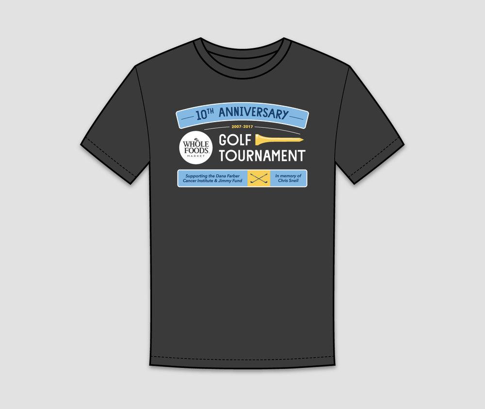 Whole Foods Market Golf T Shirt Design Mike Debenedictis