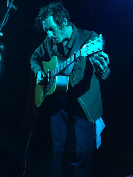 Dan Layus performs at the Troubadour. Photo by Jessica Klausing