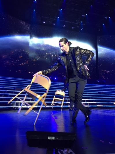 "Kevin Richardson during ""As Long As you Love Me."" Photo by Jessica Klausing."