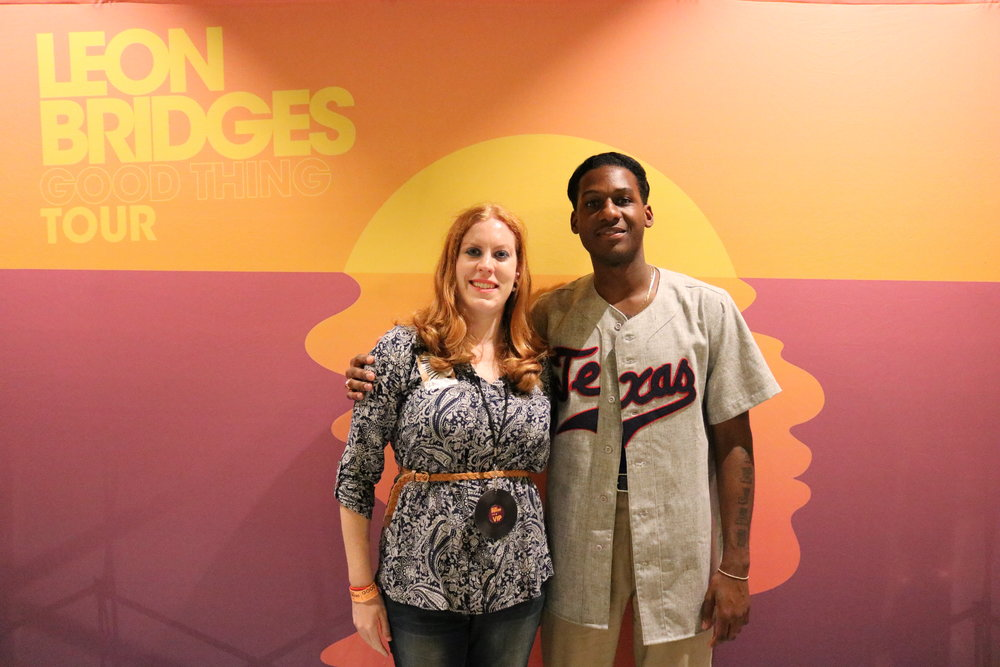 Meeting Leon Bridges.