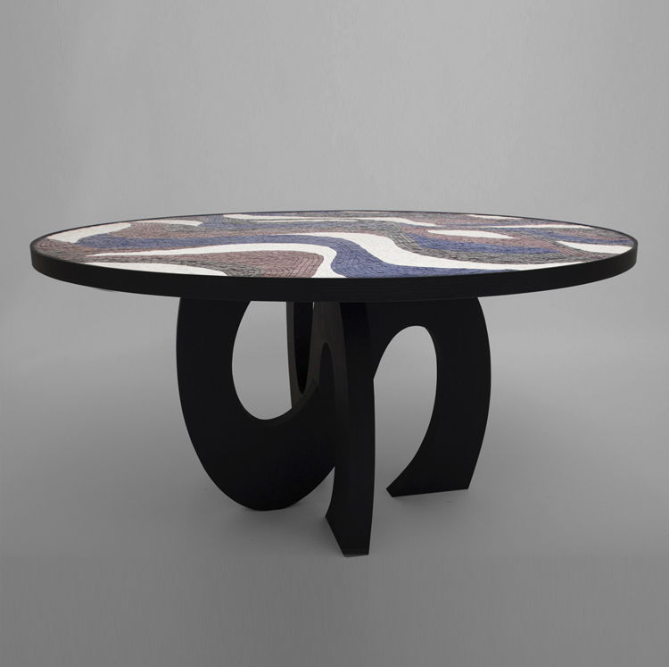 A KOOK MILIEU MOSAIC CENTER TABLE