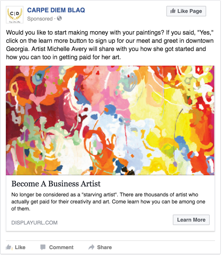 Business artist FB ad.png