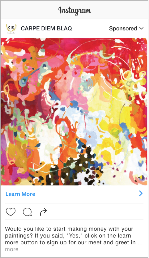 Business artist Instagram ad.png
