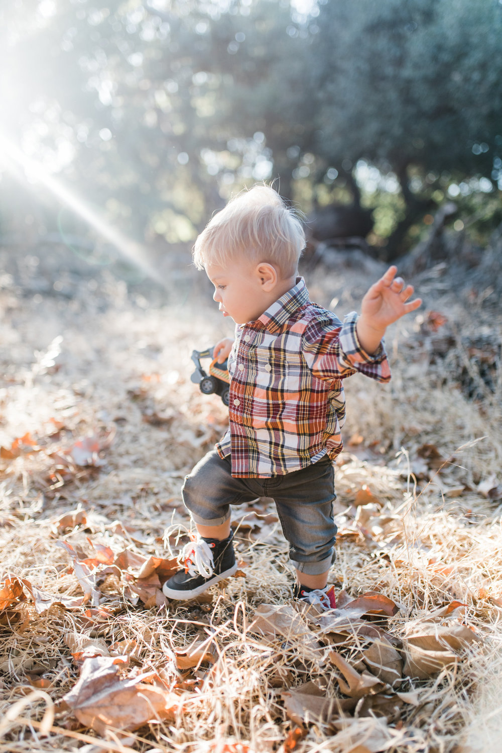 Aiden loves his independence so during this photo shoot we embraced that and let him be wild and free!   Photo credit  Chelsea Frandsen Photography