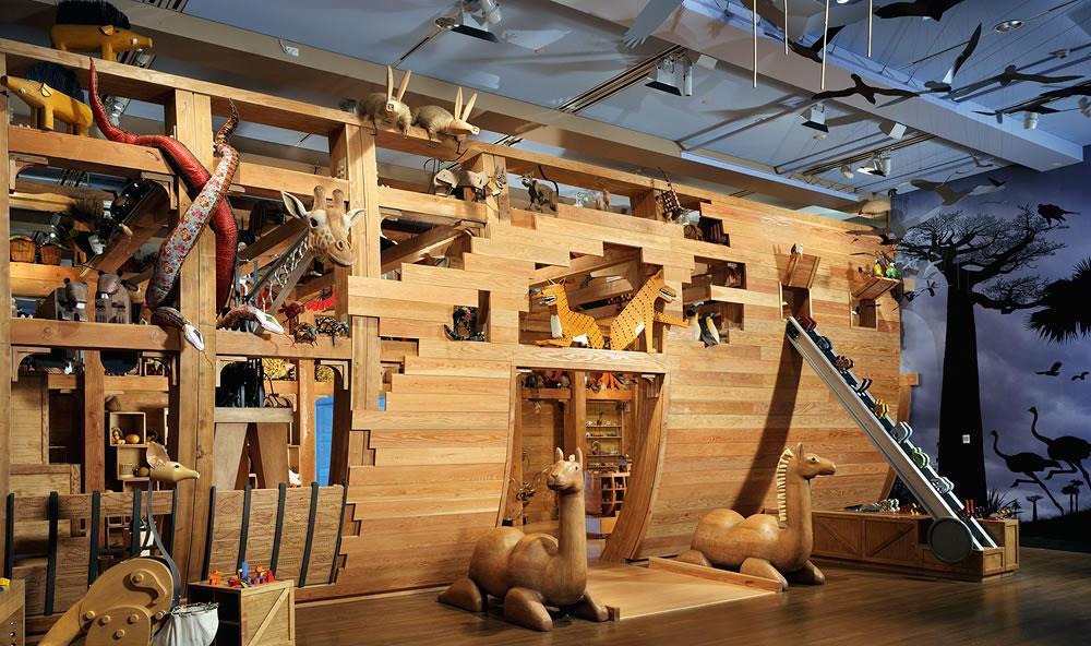 Noah's Ark photo courtesy of  Skirball Cultural Center