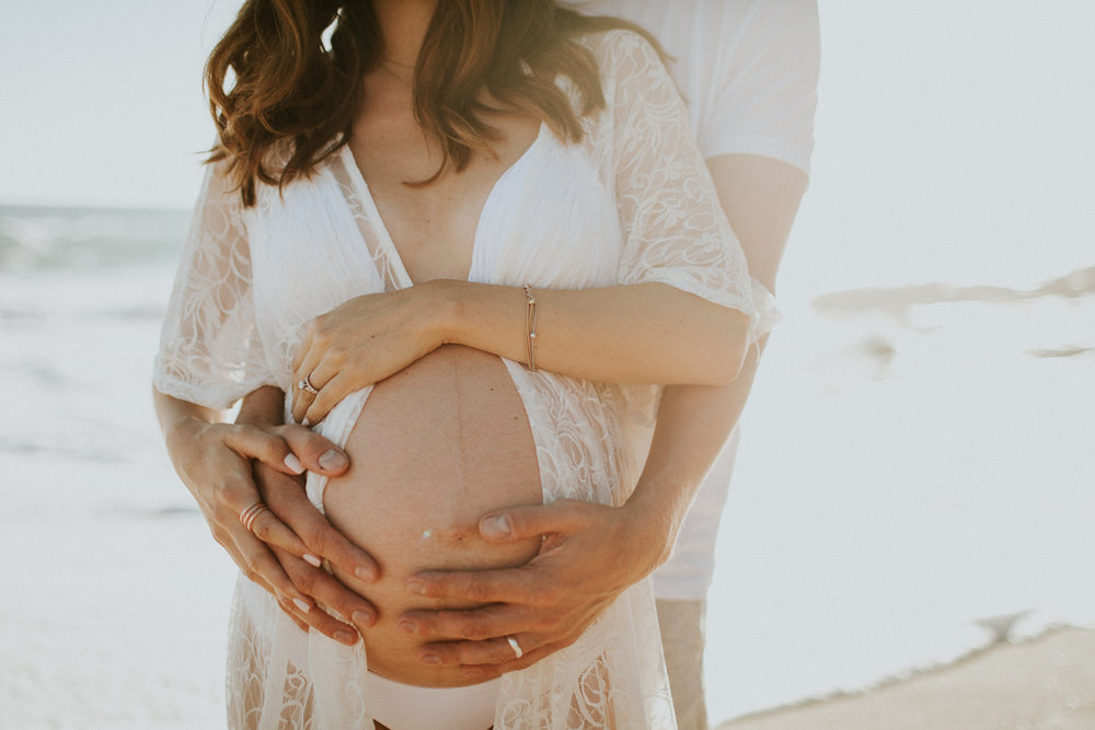 Being pregnant has been one of the greatest gifts in my life so far. Photos of my belly make me genuinely happy and filled with so much HOPE! Photo captured by  Cellar Door Photography .