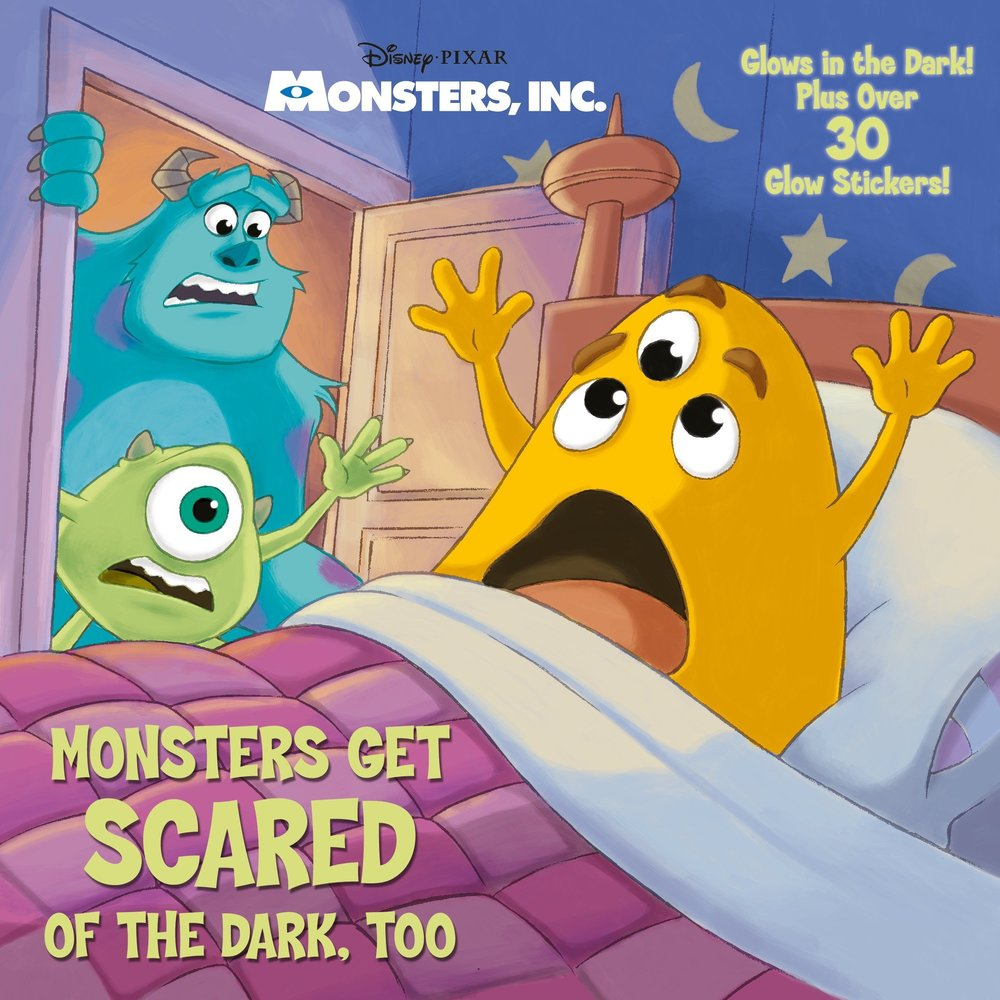 Monsters Glow in the Dark Book