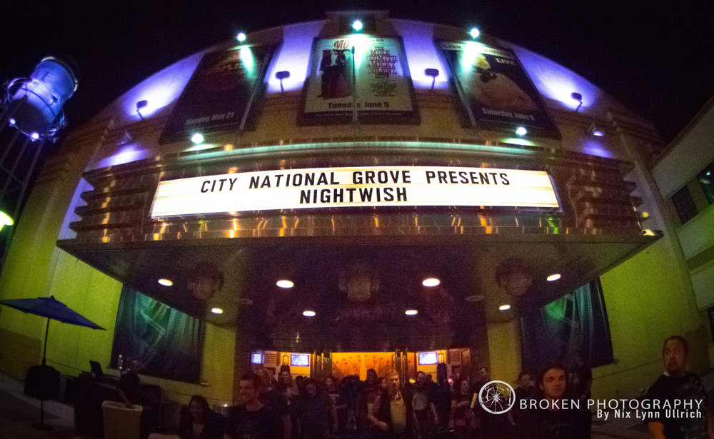 Nightwish at The National Grove in Anaheim
