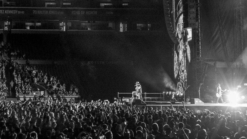 GUNS N' ROSES AT CENTURY LINK STADIUM - SEATTLE, WA - AUGUST 2016