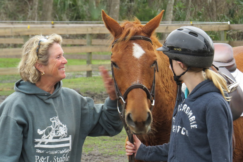Pam Stolsworth -   Owner-Manager(oh but so much more) Adds her caring and supportive touch to every student, horse and living creature on the farm.