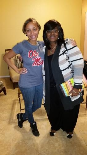 Monique Harris, LCSW and I